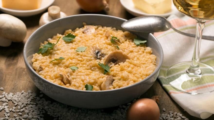 Ideas for what to serve with risotto