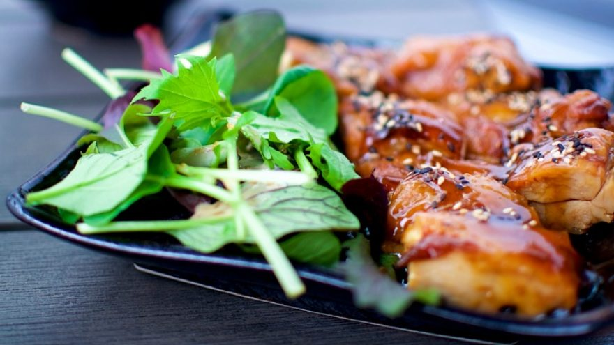 What to serve with teriyaki chicken
