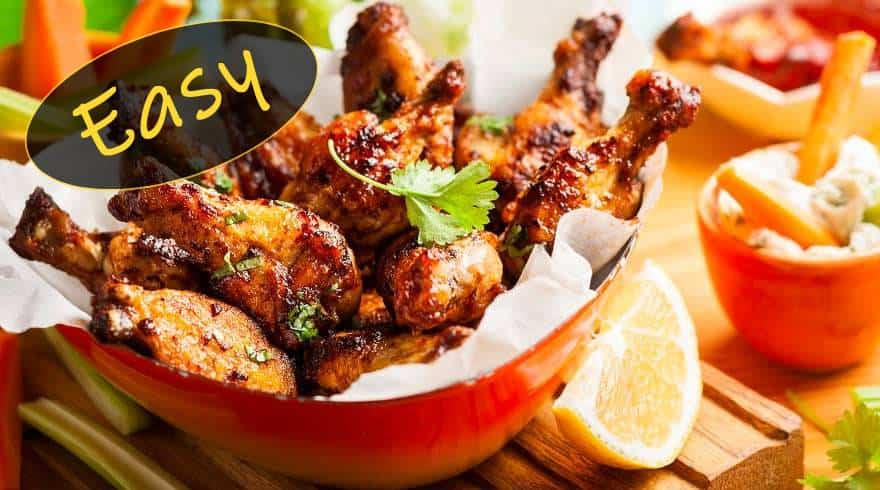 chicken wings side recipes