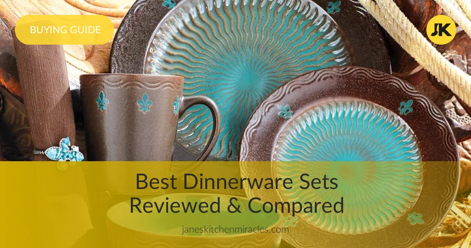 Dining Sets Cookware Bar Rustic Stoneware Dinner