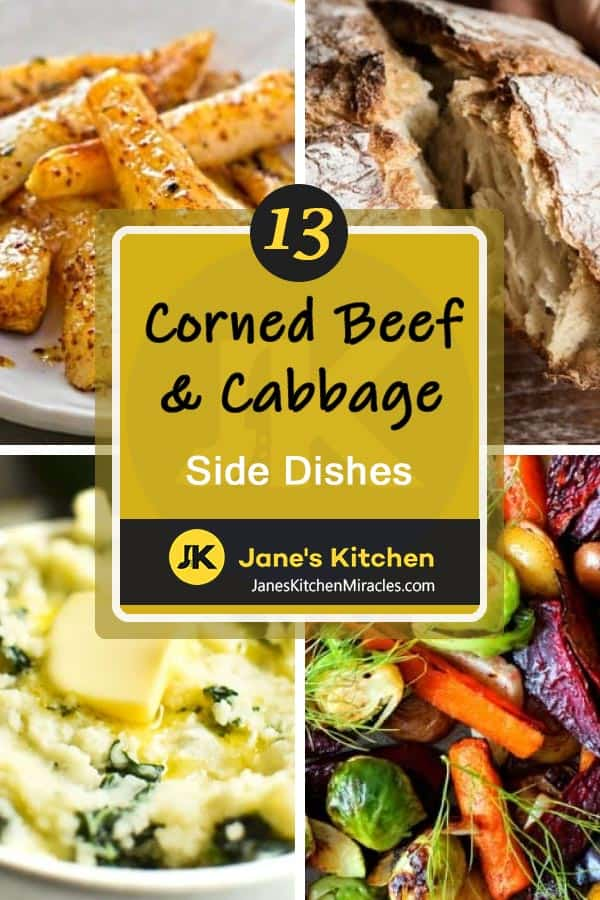 corned beef cabbage sides pin
