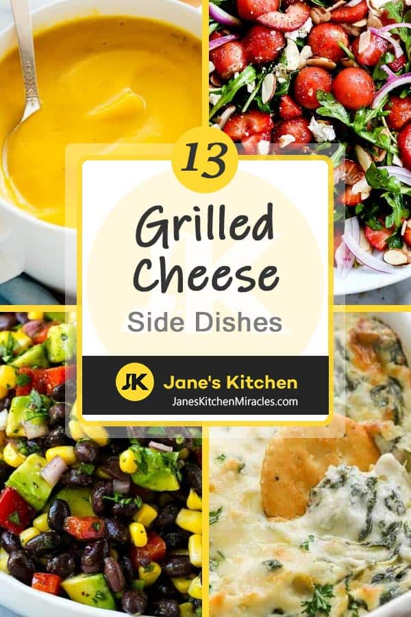 Grilled Cheese Sides pin