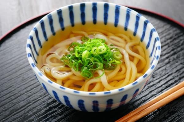 japanese food udon noodle soup