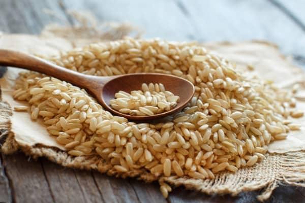 pile-brown-rice