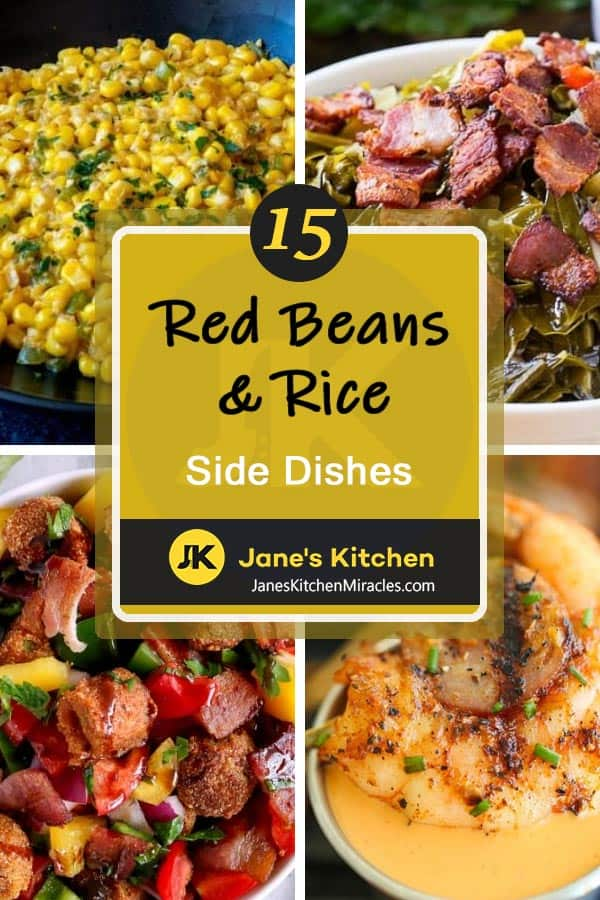 Red Beans & Rice sides pin
