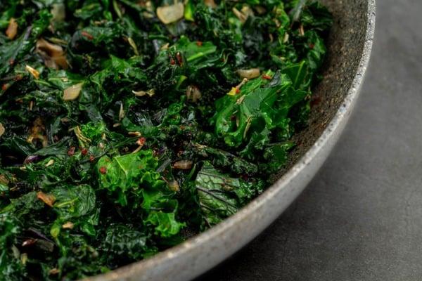 sauteed kale plant