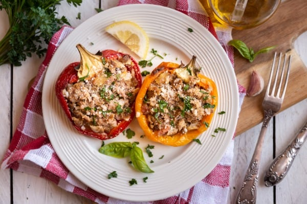 stuffed peppers sides recipes