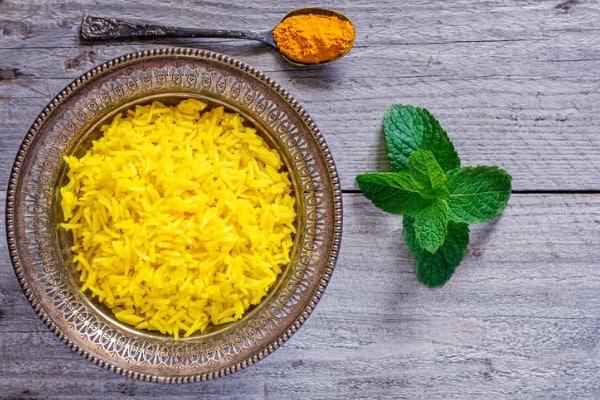 turmeric jasmine rice