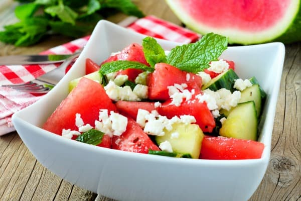 watermelon-cucumber-and-feta-cheese-salad